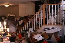 how to declutter a hoarder's house