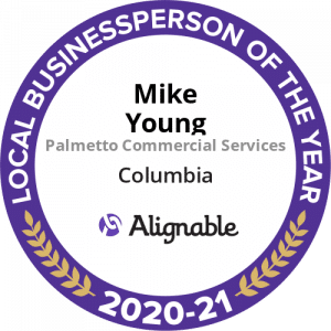 commercial cleaning company CEO wins Alignable's Business Person of the Year