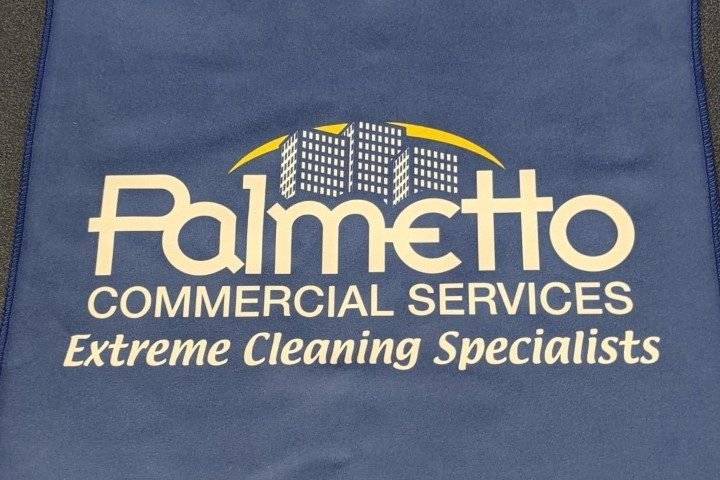 commercial cleaning custom microfiber