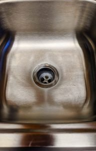 janitorial service fails clean sink