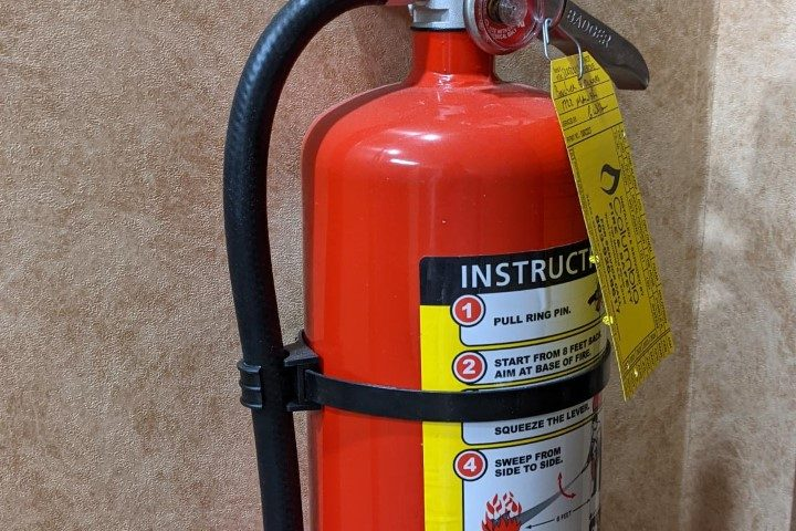 janitorial service cleaning extinguisher