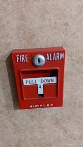 janitorial service fire alarm